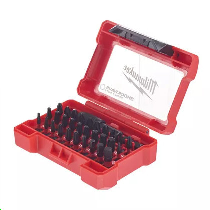 MILWAUKEE SET BIT SHOCKWAVE PER AVVITATORE AD IMPULSI - 4932464240