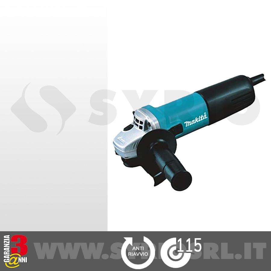 9557HNRGZ SMERIGLIATRICE ANGOLARE 115 mm 840 W