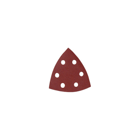 CARTA ABRASIVA DELTA PREFORATA CON VELCRO 94 MM GR. 180 PZ 10