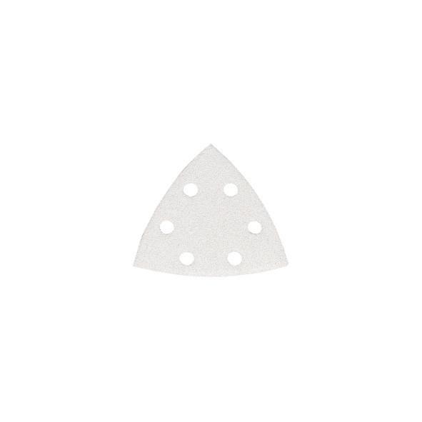 CARTA ABRASIVA DELTA WHITE CON VELCRO 94 MM GR. 80 PZ 10