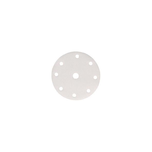 DISCO ABRASIVO 8 + 1 FORI CON VELCRO 150 MM GR. 40 PZ 10