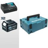 KIT ENERGY 12 V max 4,0 AH COMPOSTO DA: VALIGETTA MAKPAC + 2 BATTERIE BL1041B + DC10SB - 197641-2