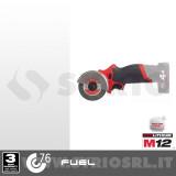 M12 FCOT-0 FUEL MINI SMERIGLIATRICE ANGOLARE 12V 78 mm SENZA BATTERIA E CARICABATTERIA cod. 4933464618