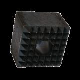 SCALPELLO A BOCCIARDA ATTACCO ESAGONALE 21 mm 67x67 mm COD. 798222-1