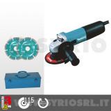9557HNRGK3 SMERIGLIATRICE ANGOLARE 115 mm 840 W