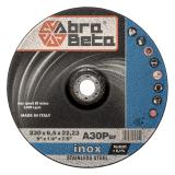 A30P DISCHI DA SBAVO - Centro Depresso PER ACCIAIO INOX