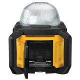 DCL074-XJ FARO LED CON FASCIO DI LUCE A 360° A BATTERIA XR 18V (SENZA BATTERIE E CARICABATTERIA)