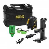 STANLEY FMHT77617-1 LIVELLA LASER AL LITIO A 360° + 2 LINEE VERTICALI A 90° FATMAX SLGI-2V - RAGGIO VERDE