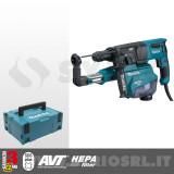 HR2653TJ TASSELLATORE SDS-Plus 26 mm TRE FUNZIONI + ASPIRAZIONE