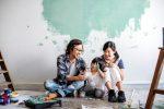 Consigli su come imbiancare casa senza sporcare