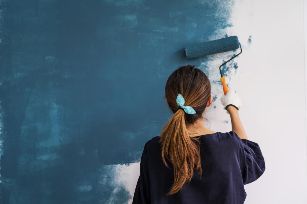 Pitturare le pareti: stili principali e materiale necessario
